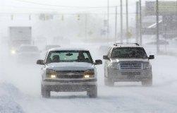 Как управлять автомобилем в снегопад