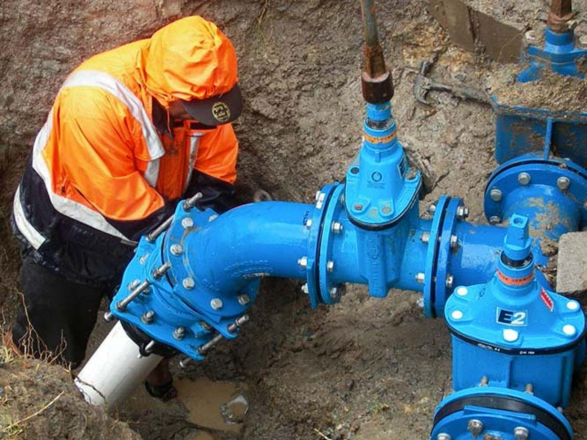 Основные сооружения и арматура наружных трубопроводов